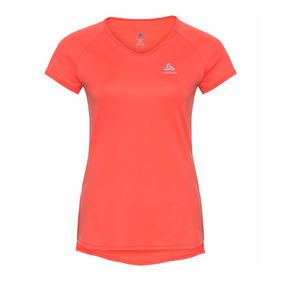 ODLO - ZEROWEIGHT - Maillot Femme hot coral