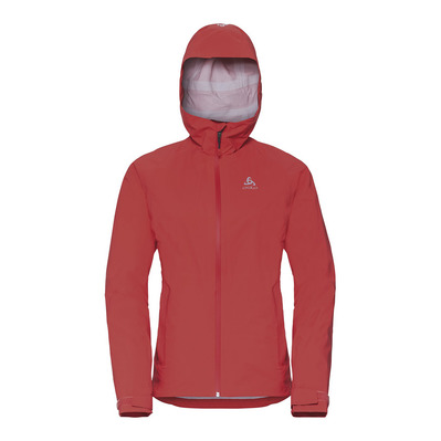 ODLO - Jacket hardshell AEGIS 2.5L WATERPROOF Femme hot coral