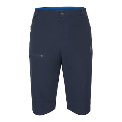 ODLO - SAIKAI CERAMICOOL - Short Homme diving navy