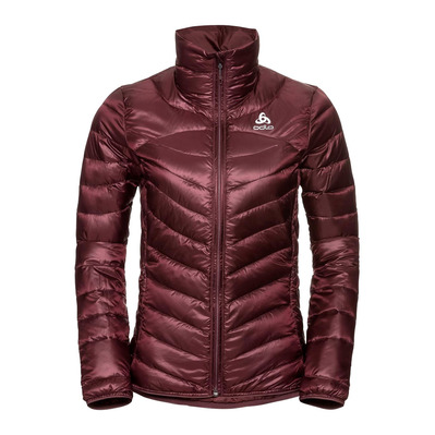 ODLO - COCOON N-THERMIC WARM - Anorak mujer decadent chocolate