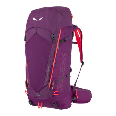 SALEWA - ALPTREK 50 +10L BP WS - Backpack - Women's - dark purple
