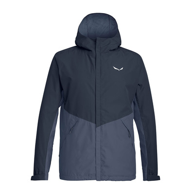 SALEWA - PUEZ POWERTEX 2L - Jacket - Men's - ombre blue/0450