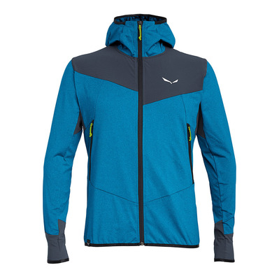 SALEWA - AGNER HYBRID POLARLITE - Fleece - Men's - blue danube melange