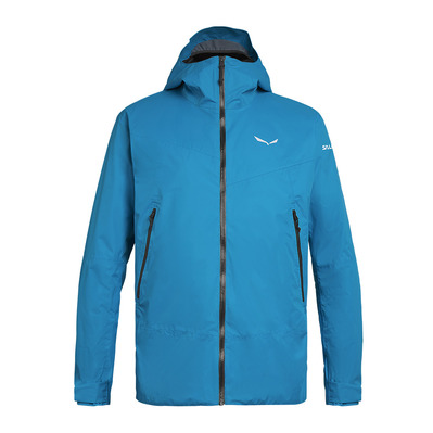 SALEWA - CLASTIC 2 POWERTEX 2L - Jacket - Men's - blue danube