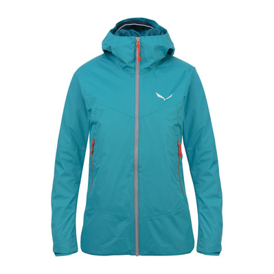 SALEWA - CLASTIC 2 POWERTEX 2L - Jacket - Women's -black out/6080