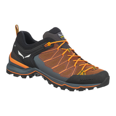 SALEWA - MTN TRAINER LITE - Hiking Shoes - Men's - ombre blue/carrot