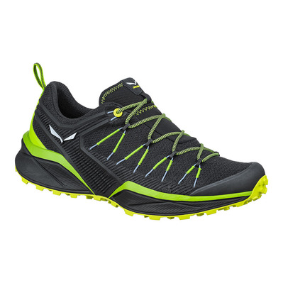 SALEWA - DROPLINE - Hiking Shoes - Men's - fluo green/fluo yellow
