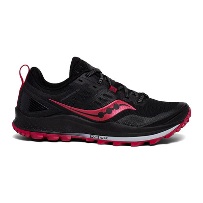 SAUCONY - PEREGRINE 10 - Chaussures trail Femme black/barberry