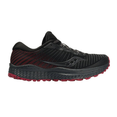 SAUCONY - GUIDE 13 TR - Zapatillas de trail mujer black/barberry