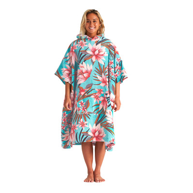 BILLABONG - HOODED TOWEL - Poncho surf Donna waterfall
