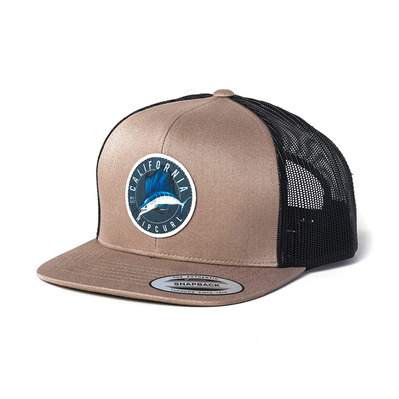 RIP CURL - DESTINATION SURF TRUCKER CAP Homme DARK KHAKI