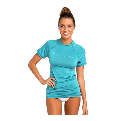 RIP CURL - Ripcurl SUNNY RAYS RELAXED - Rashguard Donna light blue