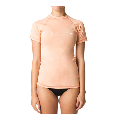 RIP CURL - Ripcurl SUNNY RAYS RELAXED - Rashguard mujer peach