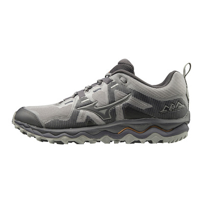 MIZUNO - WAVE MUJIN 6 - Zapatillas de trail hombre gray/scope