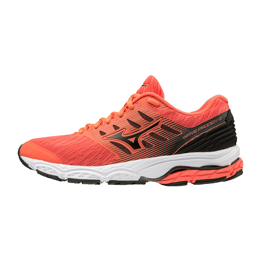 MIZUNO - WAVE PRODIGY 2 Femme Hot Coral/Blk