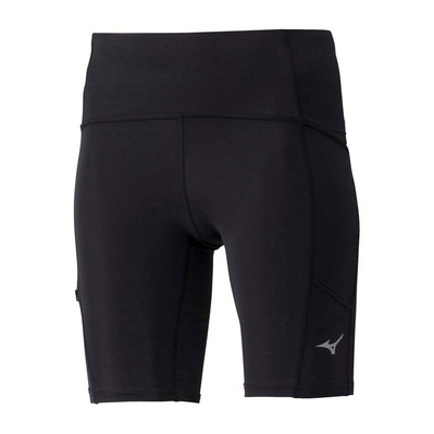 MIZUNO - CORE MID TIGHT - Pantaloncini Donna black