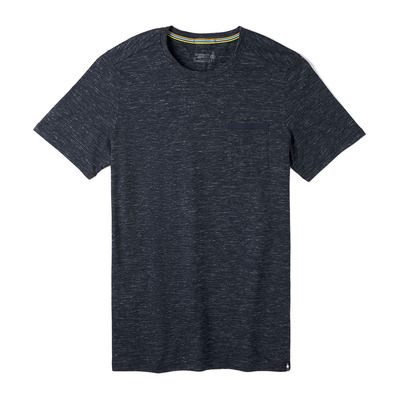 SMARTWOOL - MEverday Exlpor Pct Tee DEEP NAVY HEATHER Homme DEEP NAVY HEATHER