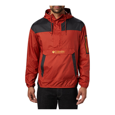 COLUMBIA - Challenger Windbreaker Homme Carnelian Red, Shark