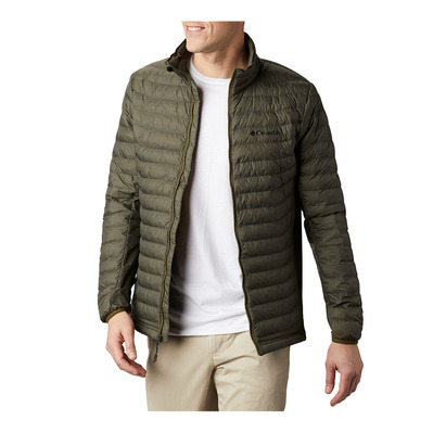 COLUMBIA - Powder Pass Jacket Homme New Olive Heather