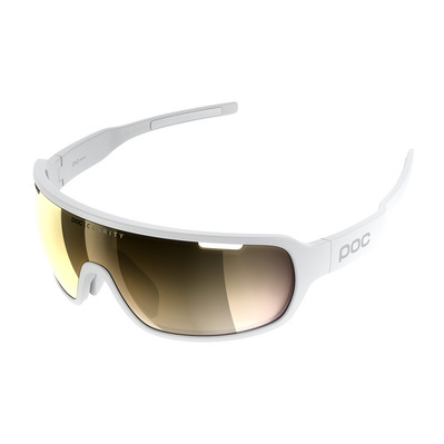 POC - DO BLADE - Lunettes cycle hydrogen white/violet gold mirror