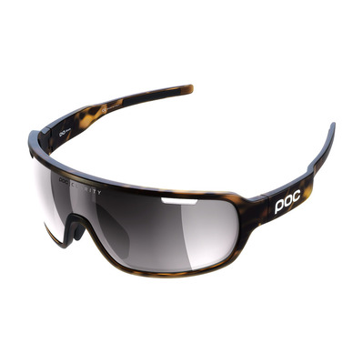 POC - DO BLADE - Lunettes cycle tortoise brown/violet silver
