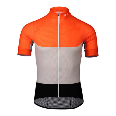 POC - ESSENTIAL - Maillot Homme granite grey/zink orange