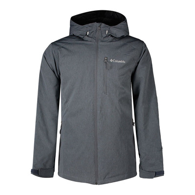 GATE RACER™ HEATHER - Chaqueta hombre graphite heather
