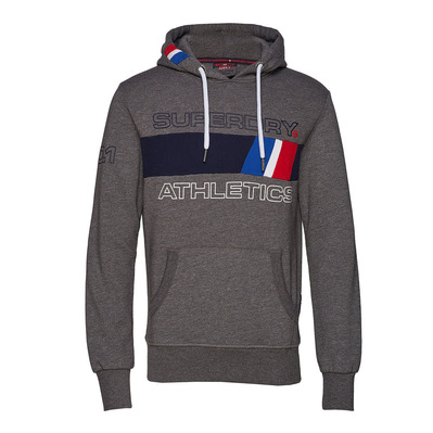 TROPHY TRI LINE - Sweat Homme academy grey grit