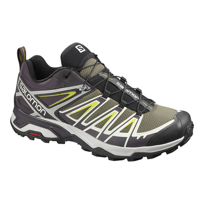 SALOMON - Shoes X ULTRA 3 Burnt Oliv/Shale/Acid Li Homme Burnt Oliv/Shale/Acid Li