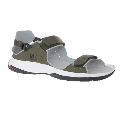 SALOMON - TECH FEEL - Sandals - Men's - grape leaf/trellis/quarry