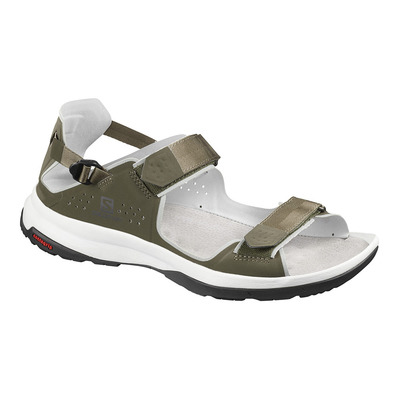 SALOMON - TECH FEEL - Sandalias de senderismo hombre grape leaf/trelli