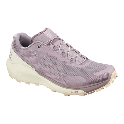 SALOMON - SENSE RIDE 3 - Scarpe da trail Donna quail/vanilla/belli