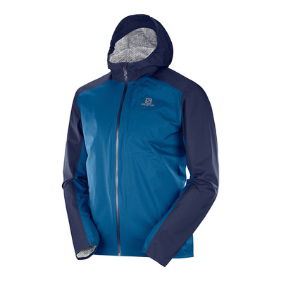 SALOMON - BONATTI WP - Chaqueta hombre night sky/poseidon