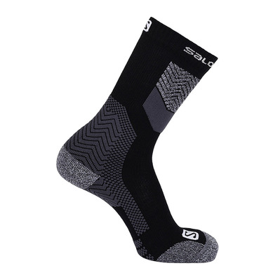 SALOMON - Socks OUTPATH WOOL Black/Forged Iron Unisexe Black/Forged Iron