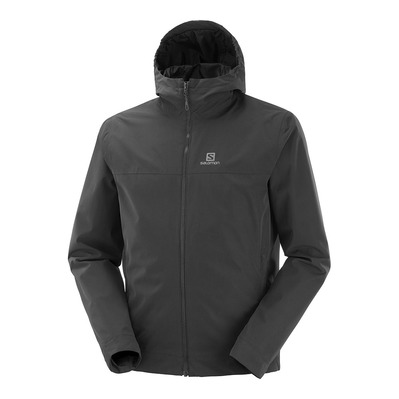 SALOMON - EXPLORE WP JKT M Black Homme BLACK