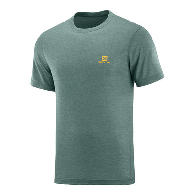 SALOMON - T Shirt EXPLORE SS TEE M Balsam Green Homme BALSAM GREEN