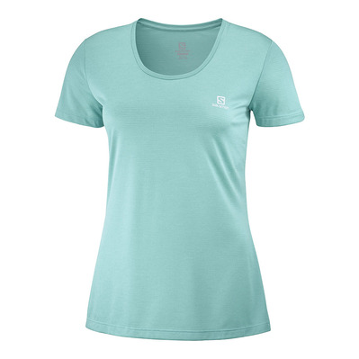 SALOMON - T Shirt AGILE SS TEE W Meadowbroo/Heath Femme MEADOWBROOK