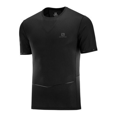 SALOMON - T Shirt SENSE ULTRA TEE M Black Homme BLACK
