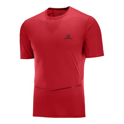 SALOMON - SENSE ULTRA - Shirt Männer goji berry