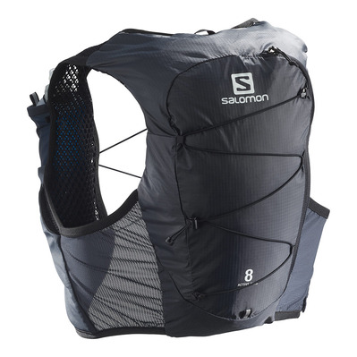 SALOMON - ACTIVE SKIN 8L - Sac d'hydratation ebony/black