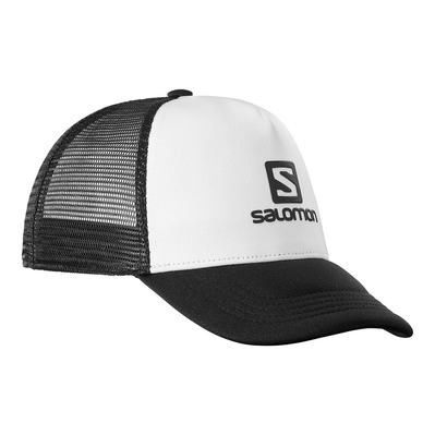 SALOMON - SUMMER LOGO - Gorra white/black