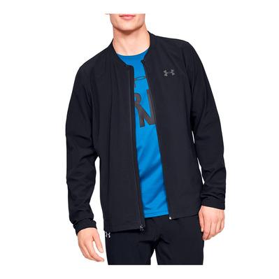 UNDER ARMOUR - STORM LAUNCH - Veste Homme black/black/reflective