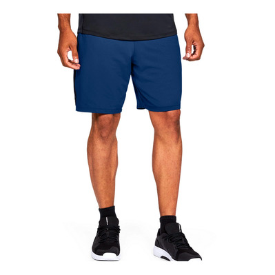 UNDER ARMOUR - MK1 Graphic Shorts-BLU Homme American Blue/Black/Versa Blue