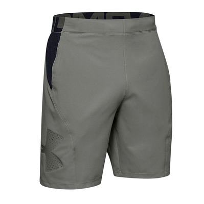 UNDER ARMOUR - VANISH WOVEN - Short hombre gravity green/black/gravity green