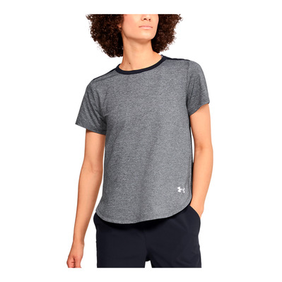 UNDER ARMOUR - UA ARMOUR SPORT - T-shirt Donna black/white