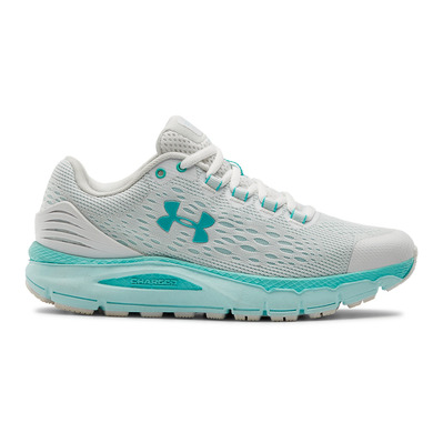 UNDER ARMOUR - CHARGED INTAKE 4 - Zapatillas de running mujer white/rift blue/blue haze