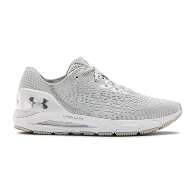 UNDER ARMOUR - HOVR SONIC 3 - Chaussures running Homme halo gray/blue ink/metallic silver