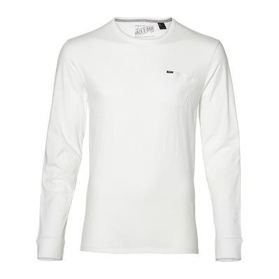 LM JACK'S BASE- Tee-shirt Homme super whit