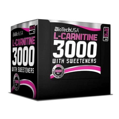 L-CARNITINE 3000 - Shots x20 citron