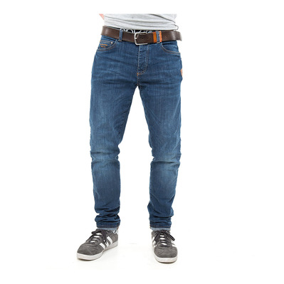 ABK URBAN YODA - Pantalon Homme washed blue